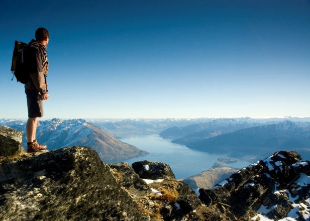 Hiking around Queenstown