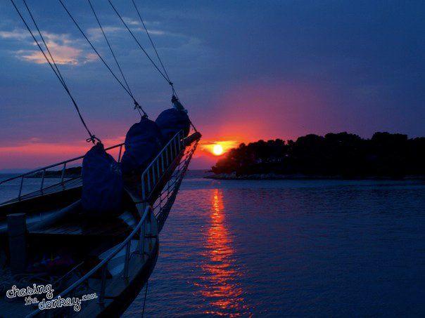 croatian-sunset