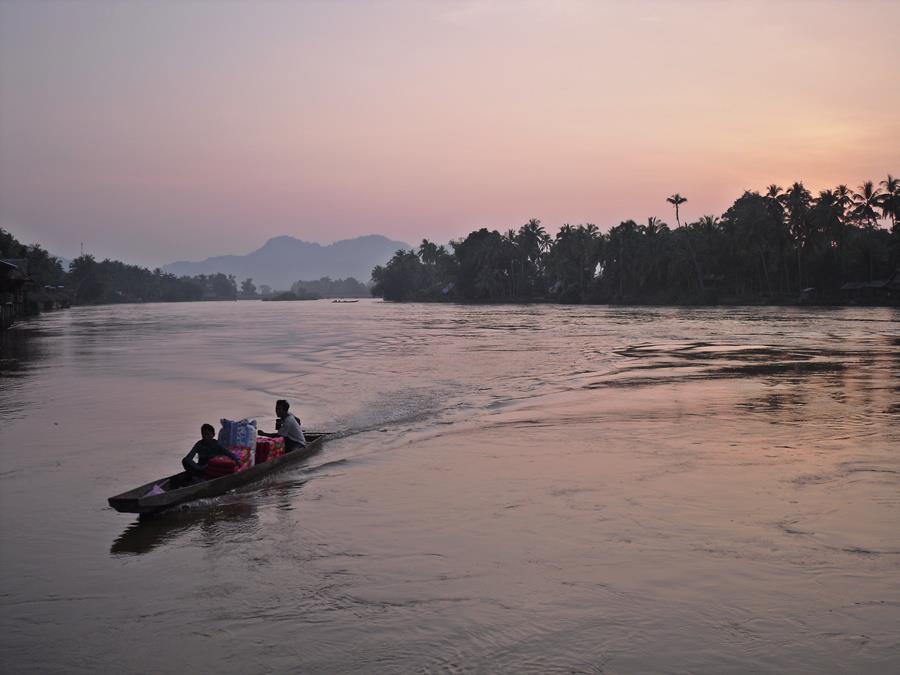 don-khon-sunset