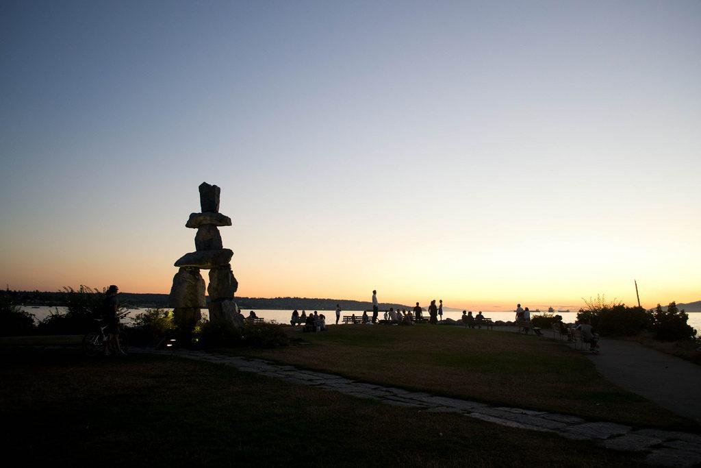 Vancouver Sunset English Bay