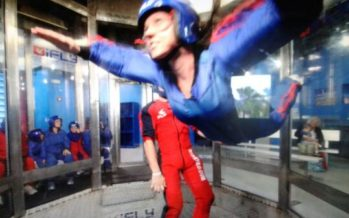 Flying High in Florida… Indoor Skydiving!