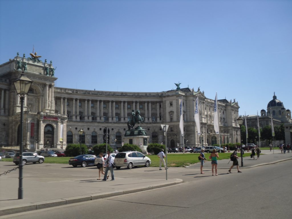 Lots of Palaces in Vienna
