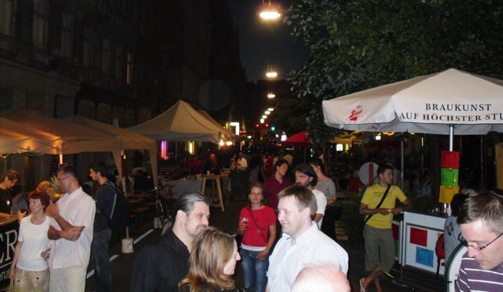 Street Party in Vienna