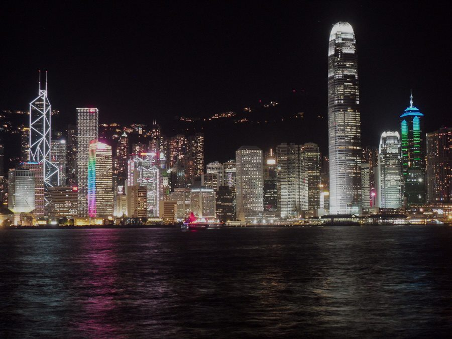 Hong Kong Skyline at night