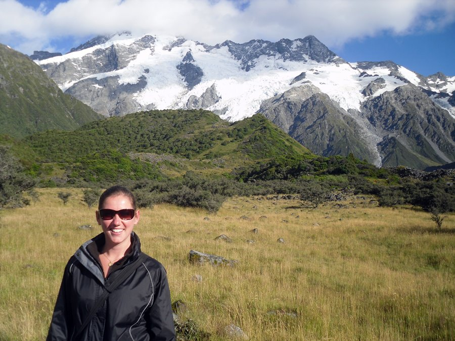 Me in the Hooker Valley, Mount Cook National Park