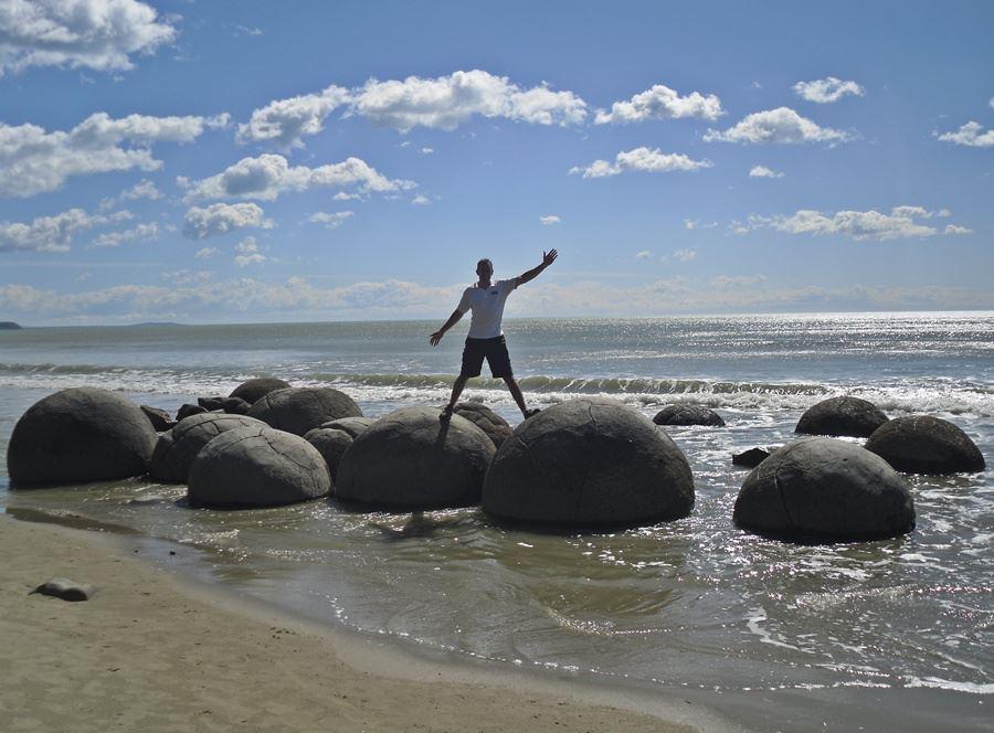 Moreaki Boulders, New Zealand