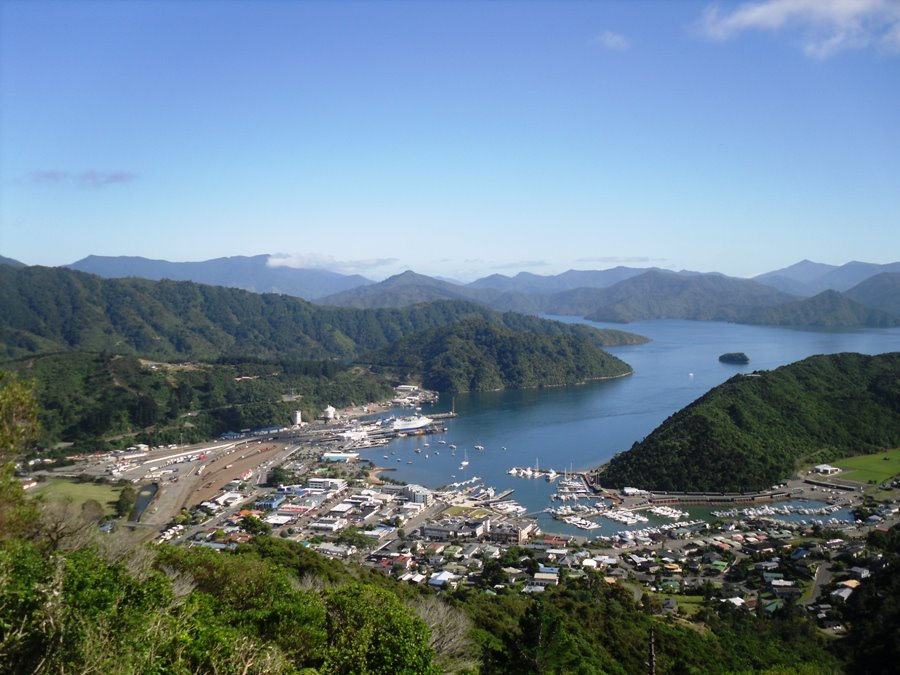 Picton, New Zealand South Island.