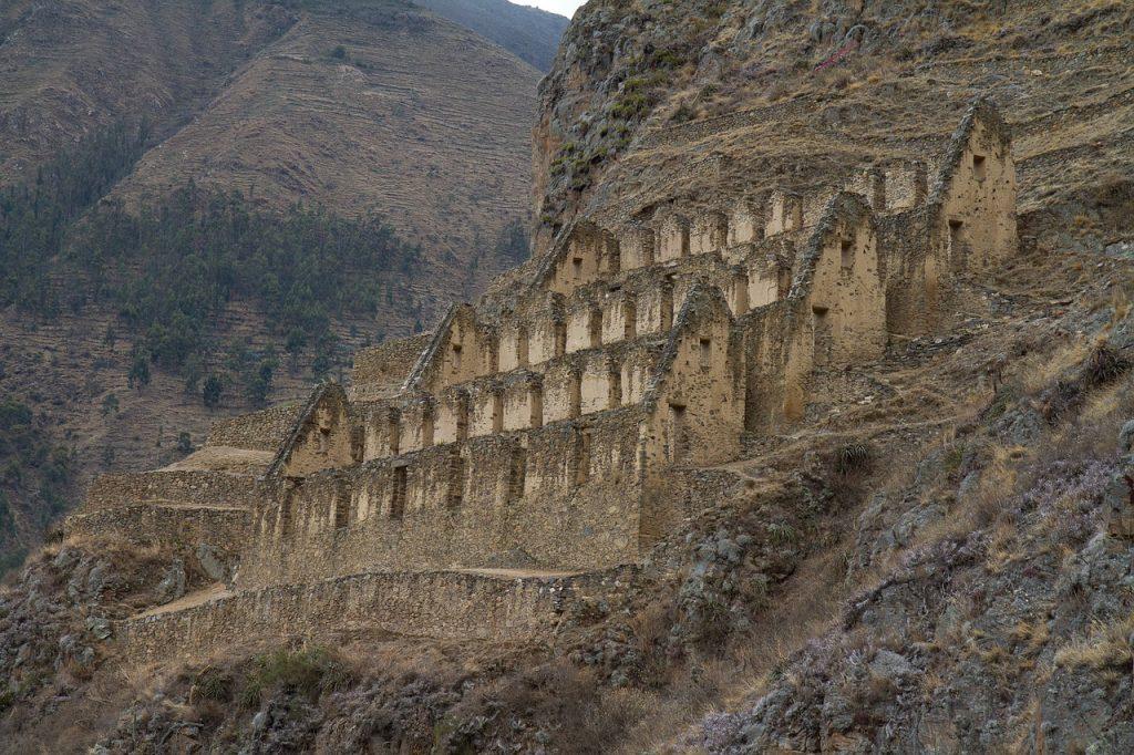 Ollantaytambo Inca Ruin, Machu Pichu