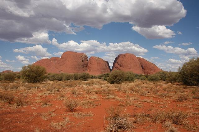 kata-tjuta-the olgas, australia, outback