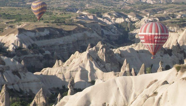 Photo Flashbacks….. Up up and away in Cappadocia