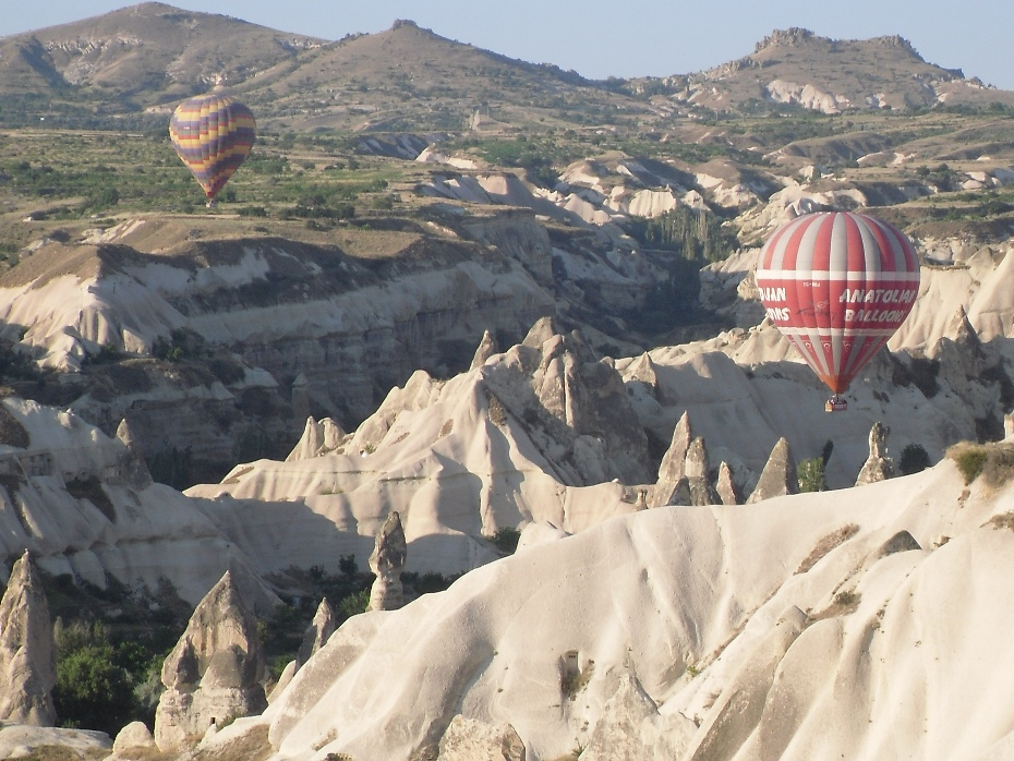 Unforgettable Views over Cappadocia