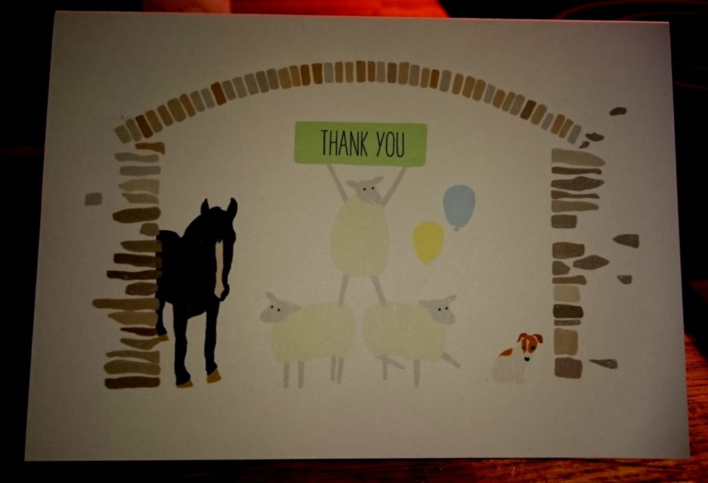 Five Wells Thank You Card.