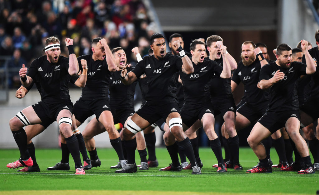 All Blacks Haka, Lions Tour, New Zealand