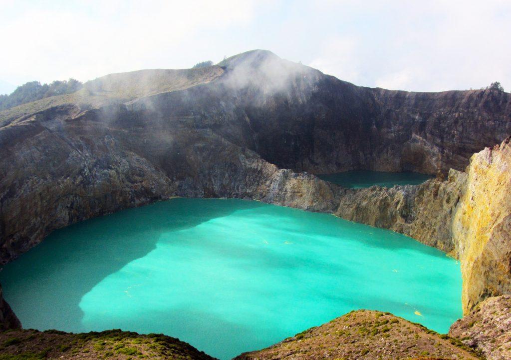 Kelimutu Volcanic Crater, Indonesia
