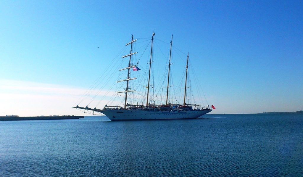 The Star Clipper sails to Indonesia