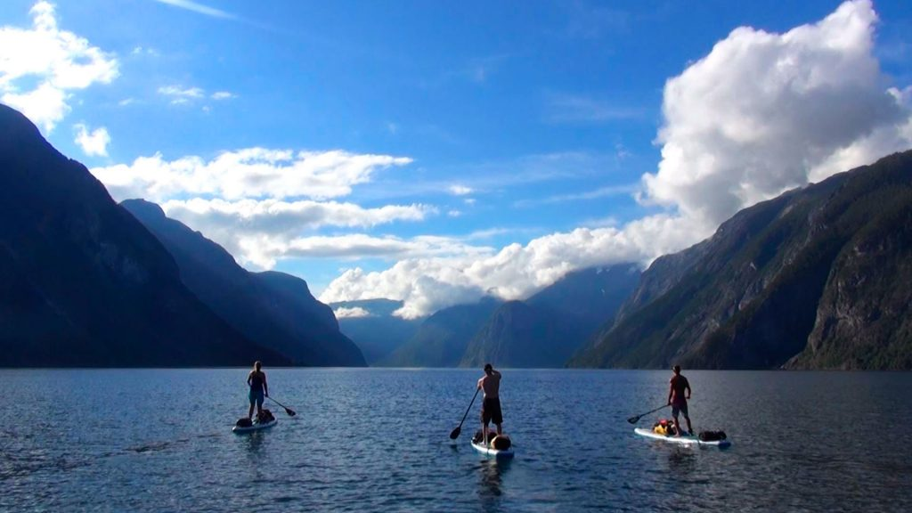 Stand Up Paddle Boarding, Norway, Responsible Travel