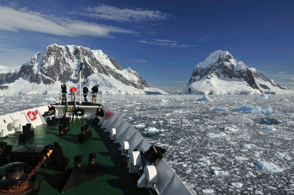 Expedition in Antarctica, credit Chimu Adventures