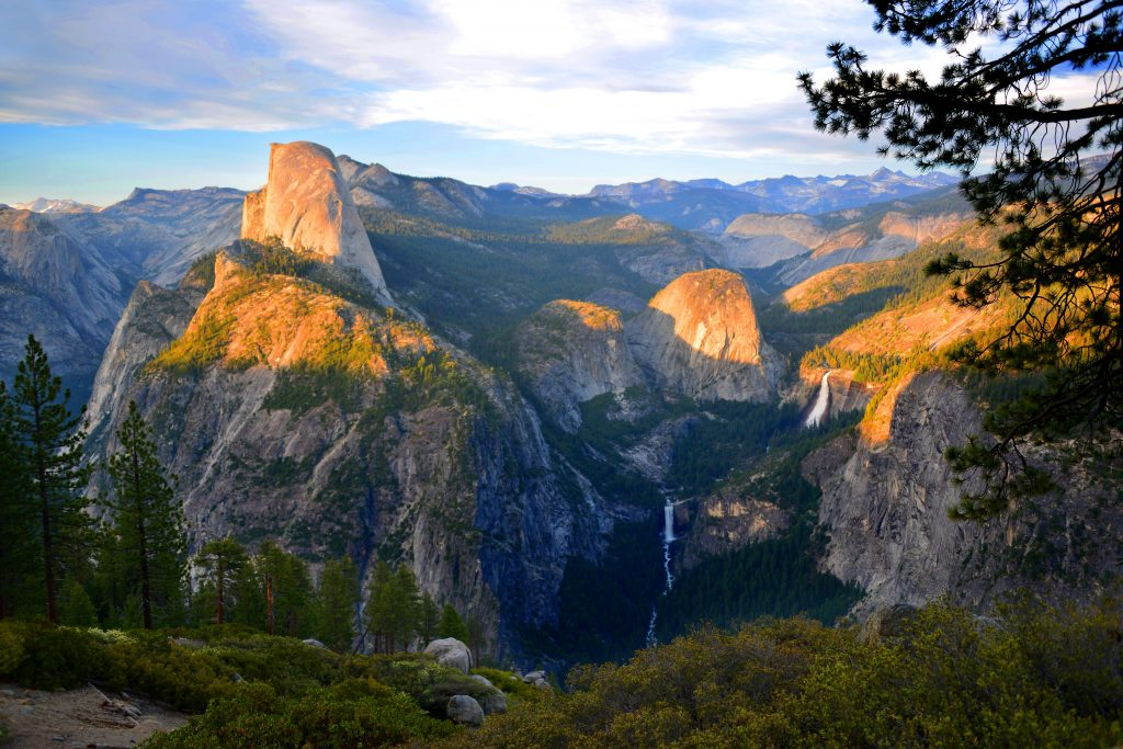 Yosemite National Park, escape the politics
