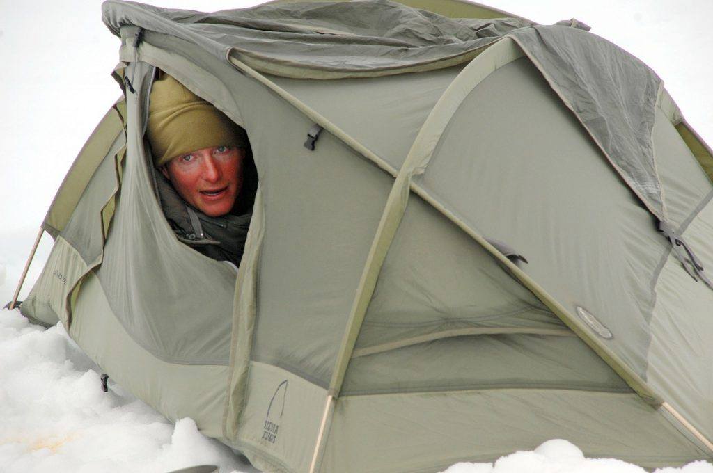 Dressing for cold camping