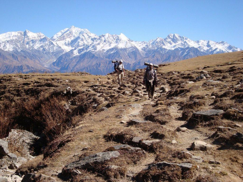 consider hiring a sherpa when trekking in nepal
