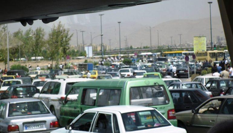 Photo Flashbacks…Mental Traffic in Iran